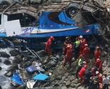 Crni bilans: Najmanje 48 mrtvih u nesreći autobusa u Peruu