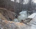Dragaš: Ugrožen most na Plavskoj rijeci