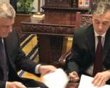 Tači i Vujanovć potpisali zajedničku izjavu o demarkaciji