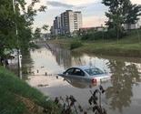 Priština poplavljena od padavina