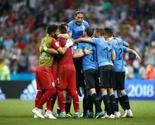 Urugvaj slavi Kavanija – kraj za Ronalda i šampione Evrope!