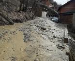 Restelica: Novo klizištte i od jutros ponovo privremeno zatvoren put do sela