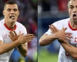 Shaqiri i Xhaka kažnjeni 5 hiljada, Fudbalski savez Srbije 54 hiljada franaka