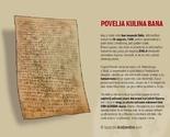 Na današnji dan 29.08.1189.g. izdana je Povelja bosanskog bana Kulina