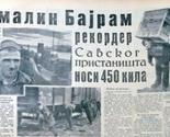 Bajram Uzeirović, amalin koji je mogao da nosi 450 kila
