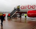 Zapalio se avion na liniji Štutgart - Priština