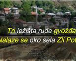 Lokacije ležišta mineralnih sirovina u Gori