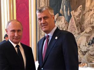 Tači: Sastanak sa Putinom veliko dostignuće