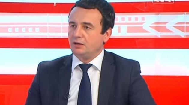 Kurti: Srbija ne može u EU bez priznavanja nezavisnosti KS