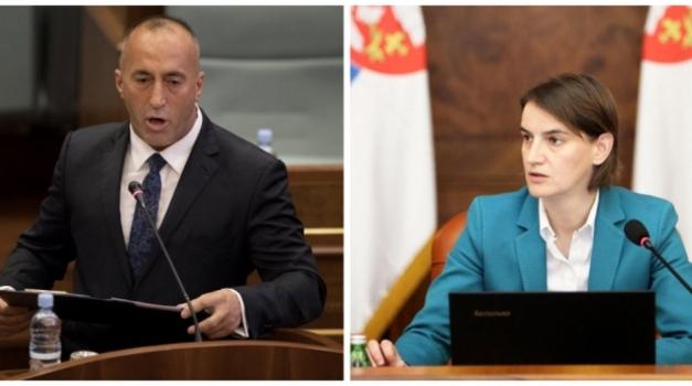 Kratak susret Brnabić i Haradinaja na samitu u Londonu
