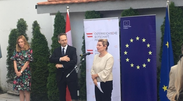 Pfandler: Radićemo na produbljenju odnosa Kosova i regiona