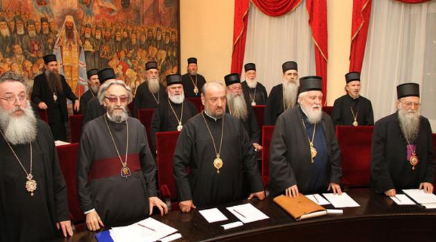 Sedam gej vladika u Saboru Srpske pravoslavne crkve