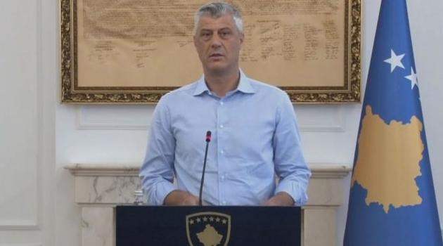 Thaçi pojasnio svoj stav: Ni podjela, ni razmjena teritorije, samo pripajanje Doline Kosovu