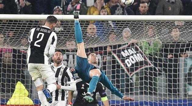 Ronaldo je skočio 1,41 metar, a loptu udario na visini od 2,38 metara