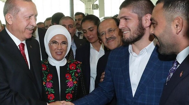 Khabib Nurmagomedov se susreo s Erdoganom na otvorenju novog aerodroma