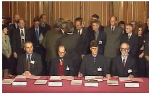 19 godina od potpisivanja sporazuma u Parizu