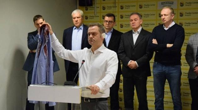 Stefanović: Napad nije nasumičan već smišljen pokušaj ubistva