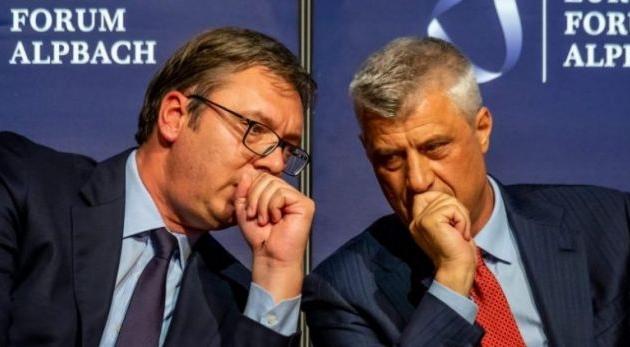 """""""Otkrivena 'baza' gde se Vučić i Tači sastaju za tajne razgovore o podeli"""""""
