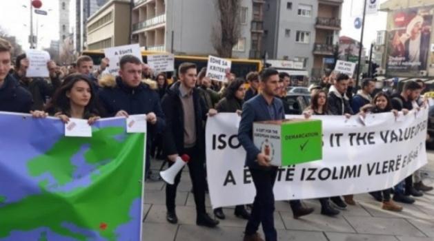 Protest studenata danas u Prištini zbog vizne liberalizacije