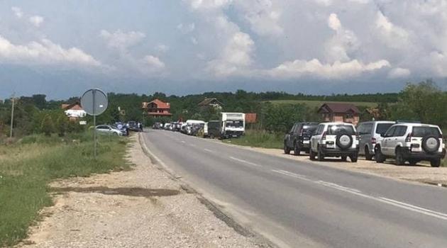 Goraždevac: Protest Srba i Albanaca zbog hemijskog otpada