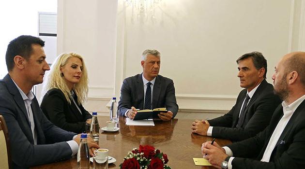 Thaçi sa predstavnicima VAKAT-a i KDTP-a