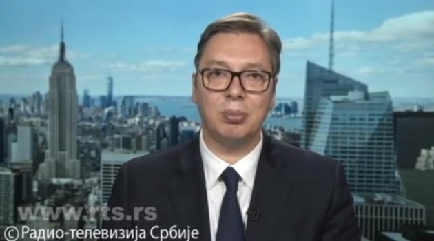 Vučić: Amerika traži priznanje i tu odluku neće menjati