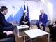 Uz posredstvo Makrona sastali se Tači i Vučić