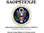 Ambasada SAD: Nismo konsultovani o transformaciji BSK