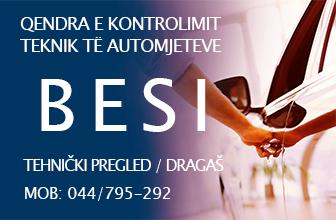 Tehnički pregled - BESI